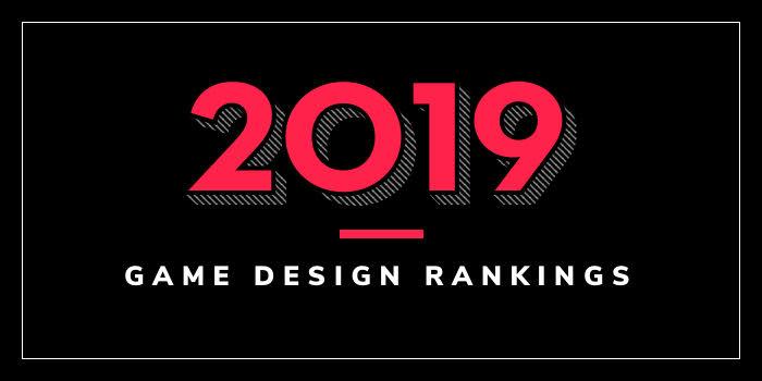 2019 Game Design School Rankings