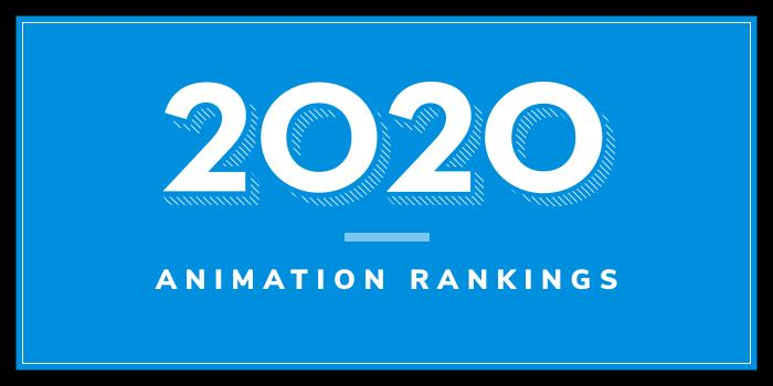 2020 Animation School Rankings