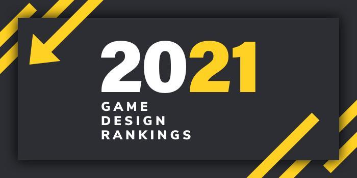2021 Game Design School Rankings