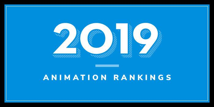 2019 Animation School Rankings