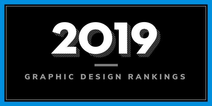 2019 Graphic Design School rankings